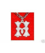 SALE Sterling Silver Charm Initial Gothic Letter H Jewelry - $12.78