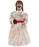 HALLOWEEN  GRIM GIRL DOLL ZOMBIE SOUND  PROP DECORATION HAUNTED HOUSE   - $49.95