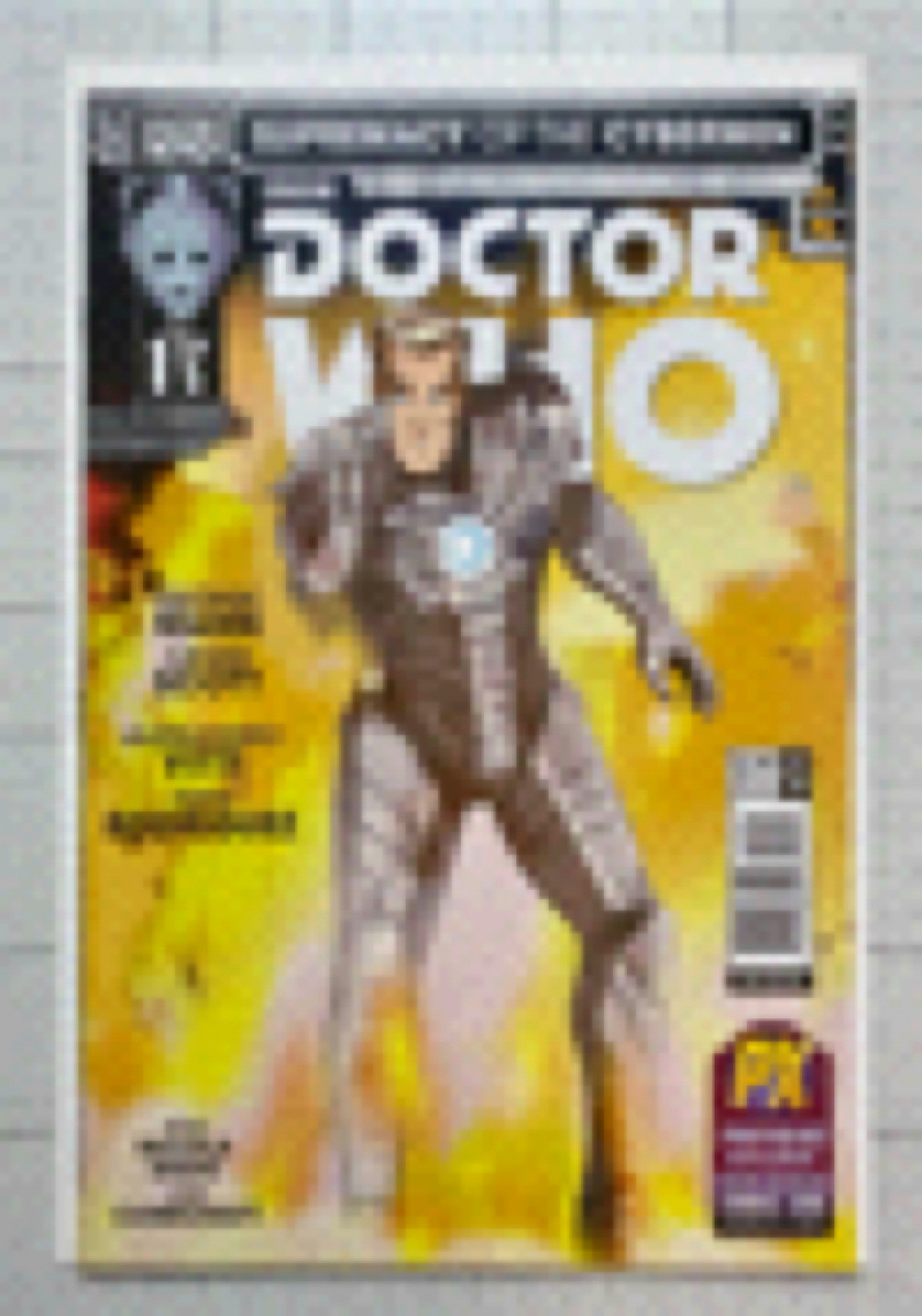 Primary image for Doctor Who Supremacy Of The Cybermen #1 2016 Titan [SDCC Variant] (High Grade)