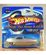 2005 Hot Wheels #19 First Editions PROTOTIPO ALPHA ROMEO B.A.T. 9 Silver... - $15.25
