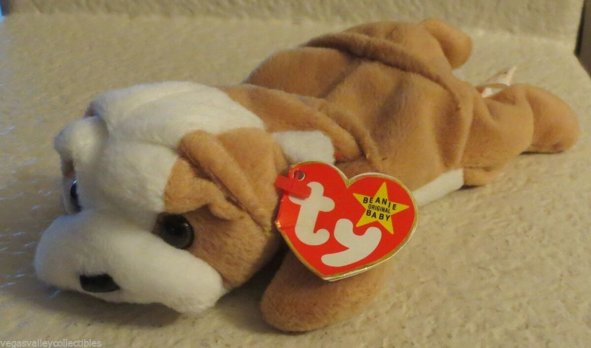 Primary image for Ty Beanie Baby Wrinkles 1996 5th Generation Hang Tag PVC Filled NEW