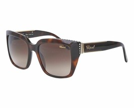 Chopard SCH-190-S Authentic Designer Sunglasses frames Havana Gold - $188.09