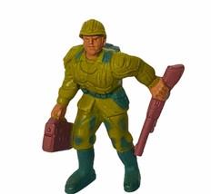 Guts! figure toy vtg 1986 Mattel G.U.T.S. soldier guts ground troops Gru... - $17.37