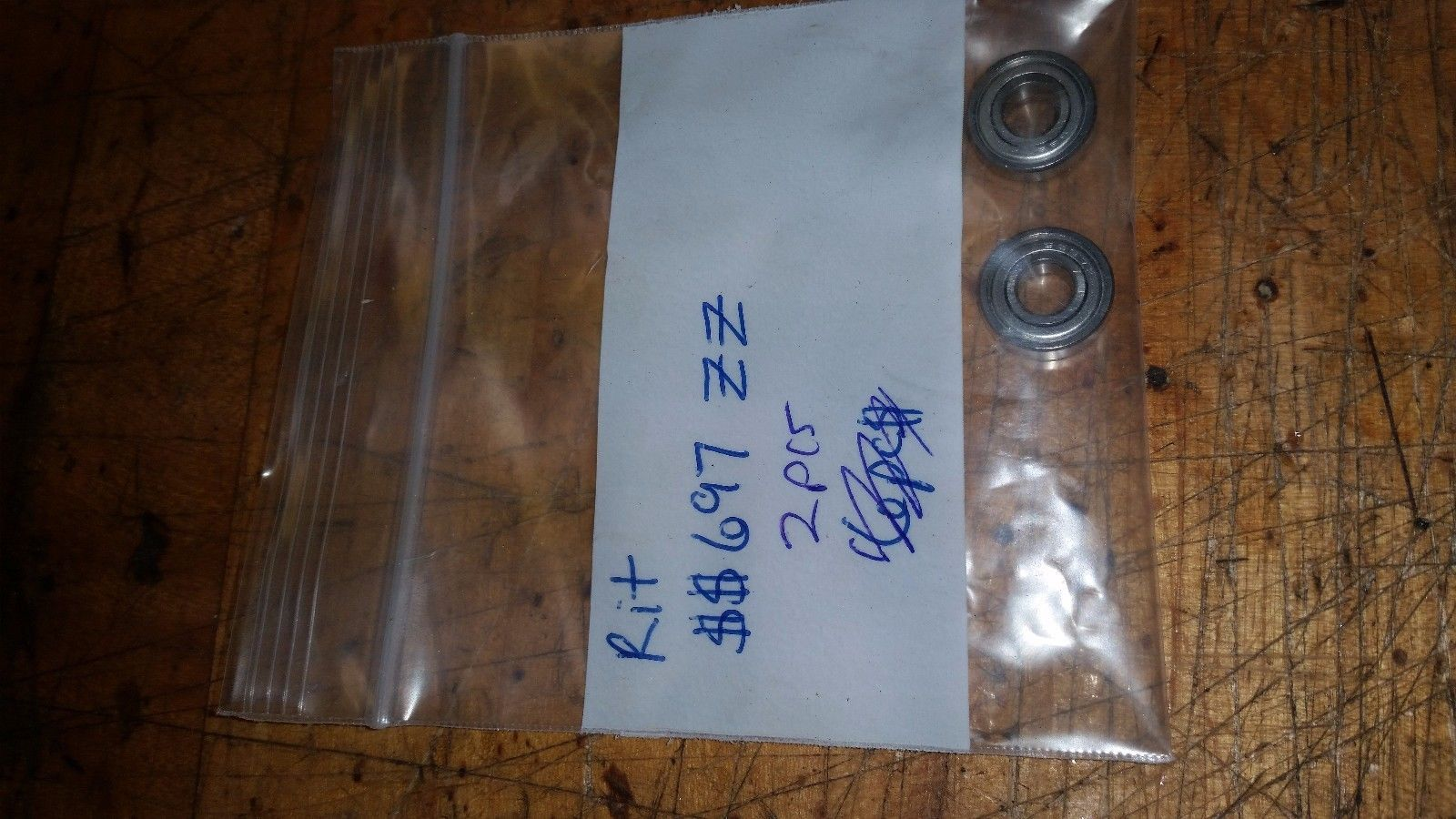 PAIR OF RIT  SS697ZZ Miniature Bearings Ball Mini Bearing 7 X 17 X 5mm