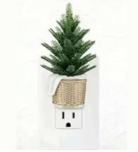 Bath & Body Works Wallflower Light Up Plug In Green Fern Potted Pine Tre... - $13.76