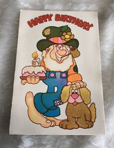 Hillbilly Happy Birthday Vintage American Greetings 1978 Card - $5.89