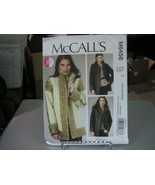 McCall's M6456 Misses Reversible & Lined Jackets Pattern - Size XS/S/M (... - $8.90