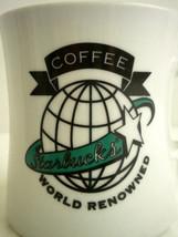 Starbucks World Renowned Coffee Diner Style Mug Cup 8 oz Restaurant Ware... - $14.69