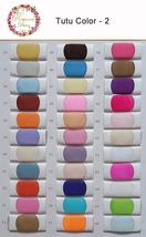 Women Ivory Tea Length Tulle Skirt Ivory Wedding Bridesmaid Midi Tulle Skirts  image 5