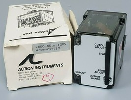 NIB ACTION INSTRUMENTS MDL: 7500-5016 FREQUENCY CONVERTER 4-20mA 120VAC 75005016