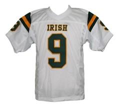 Lebron James #9 Irish High School New Men Football Jersey White Any Size image 4