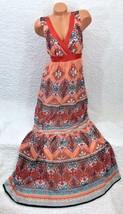 BEBE -2b-GORGEOUS Teresa Slip Sleeve MAXI DRESS Size XS - $33.24