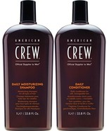 American Crew Daily Moisturizing Shampoo and Daily Conditioner DUO 33.8oz  - $37.50
