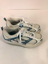 FILA Womens 7.5M White Blue Walk N Sculpttr - $24.55
