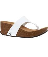 MERRELL Panarea Thong Cork Wedge Sandals BNIB - $51.19