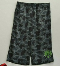 Nickelodeon Boys TMNT Athletic Workout Basketball Mesh Shorts Black XLarge 20 - $14.03