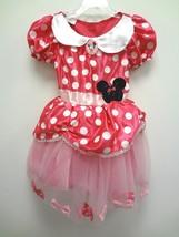Halloween Disney 2PC Mickey Minnie Mouse Costume Dress Size 4-6X Free Shipping - $14.92