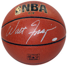 Walt Frazier signed Spalding NBA Indoor/Outdoor Basketball (silver sig)-... - $108.95
