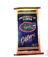 UF University of Florida Canvas Banner Wall Hanging Gator Cord Hanger 15... - $19.79