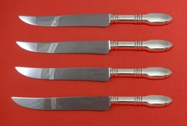 Robert Bruce by Graff, W and D Sterling Steak Knife Set Texas Sized Custom - $418.10
