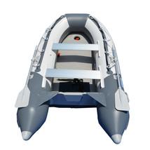 BRIS 9.8 ft Inflatable Boat Dinghy Yacht Tender Fishing Raft Pontoon W/Air Floor image 2