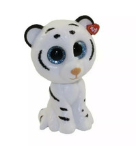 TY Mini Boo Tundra Collectible Figure Series 2 Tiger Cat White Black - $9.89