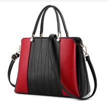 New European Fashion Ladies Tote Handbag PU Leather Women Office Hand Ba... - $72.68