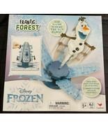 DISNEY FROZEN FRANTIC FOREST BOARD GAME TREE OPENS SENDS OLAF FLYING 2-4... - $17.96
