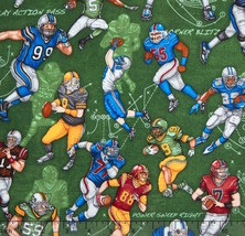 "RJR The Whole Nine Yards Scrimmage Green 100% cotton Fabric Remnant 20"" - $137,43 MXN"