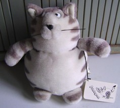 "B Kliban~Friskycat~Stuffed Plush ANIMAL~8"" Cat~Premium INCENT/RUSS Berrie~Korea - $18.69"