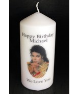 Cellini Candles Birthday Michael Jackson  Unique Gift Collector Pop Icon #1 - $19.79