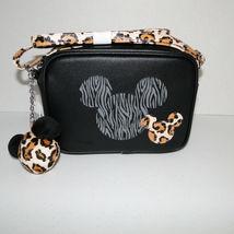 Disney Parks Animal Kingdom Mickey Mouse Leopard Crossbody Purse image 12