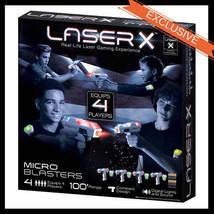 LASER X Micro Blasters 4-pack - $49.99