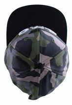 Asphalt Yacht Club Camo Green Black Hunt Snapback Baseball Hat AYC1410920 NWT image 6