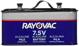 Rayovac 803 Lantern Battery, 7.5 Volt Screw Terminals, Alkaline Emergency - $44.51