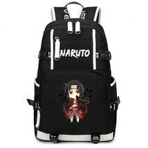 Naruto Theme Fighting Anime Series Backpack Schoolbag Daypack Small Itachi - $36.99