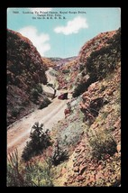 Royal Gorge Drive Postcard 1920s Colorado Canon City Priest Canon Railro... - $14.99
