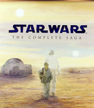 Star Wars: Complete Saga [9 Blu-Ray Disc Box Set] image 1