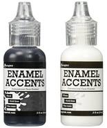 Ranger GAC27355 Inkssentials Enamel Accent, 0.5 oz, Black/White - $8.24