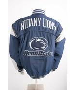 Vintage Penn State Coat Jacket XL Spellout Nittany Lions Nutmeg Campri M... - $197.99