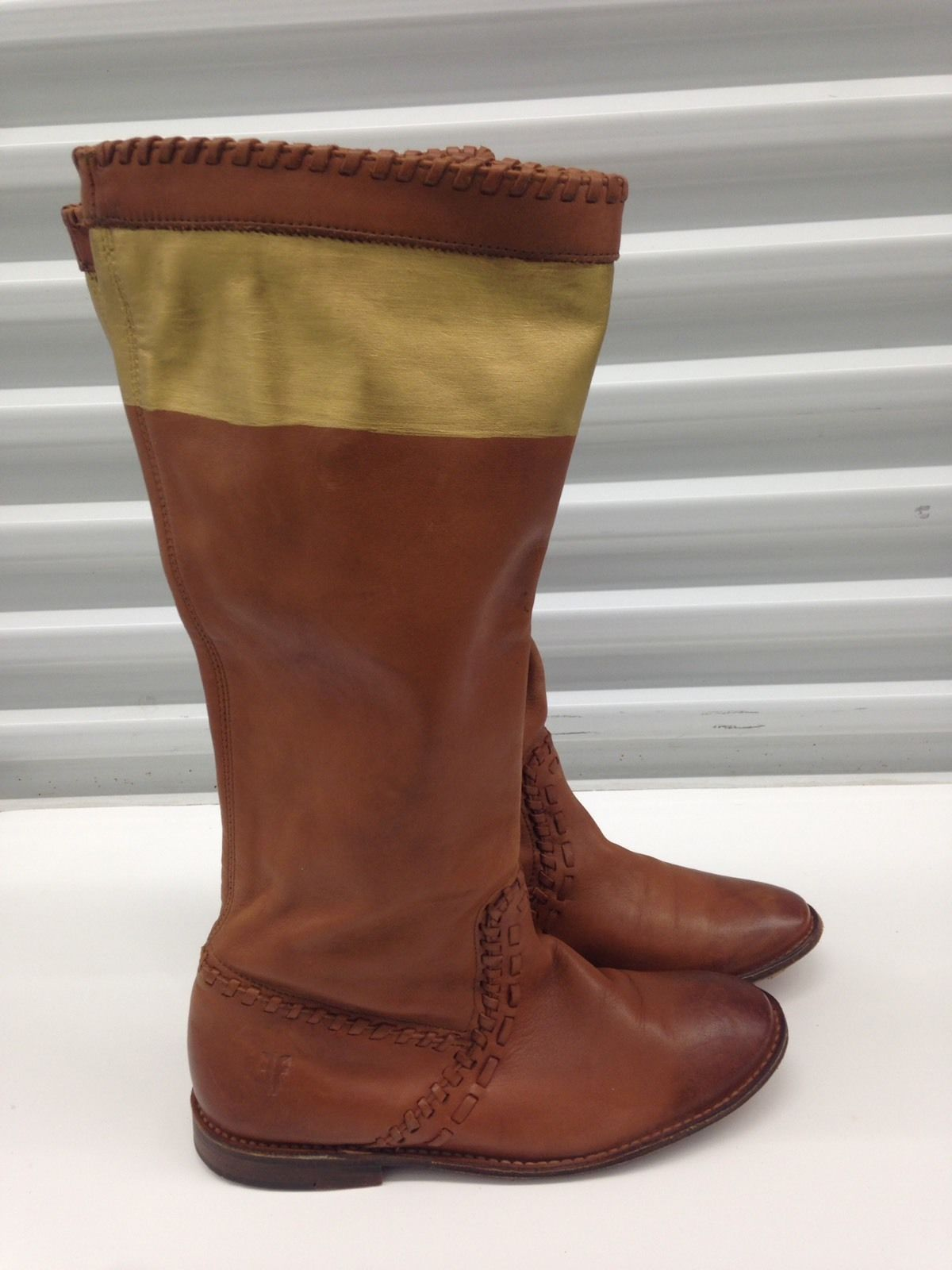 cfc7cef9584 $220 FRYE Boots Pull up Tan Brown Whiskey and 50 similar items