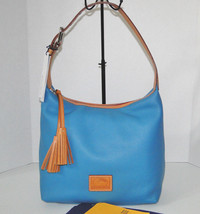 Dooney & Bourke Paige Sac Leather Shoulder Bag Turquoise - $139.00