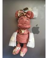 NWT Disney Coach F30955 Pink Minnie Mouse Doll FOB key chain Handbag Charm - $179.99