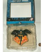 "2000 Batman Kurt S Adler Warner Bros DC Comics 3.5"" KATHOOM XMAS Ornamen... - $12.85"