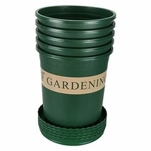 Yaegoo 5PCS 1 Gallon Durable Nursery Pot/Garden Planter Pots/Nursery Pla... - $51.89 CAD