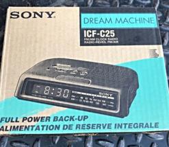 Vintage Sony Dream Machine AM/FM Clock Radio - $89.00