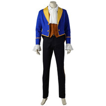 Beauty and the Beast Cosplay Beast Prince Adam Costume Men Halloween Suit - $106.96