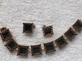 Renoir Copper Jewelry-Bracelet And Clip On Earrings- - $65.00