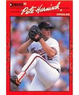 1990 Donruss #596 Pete Harnisch NM-MT Orioles DP - $0.99