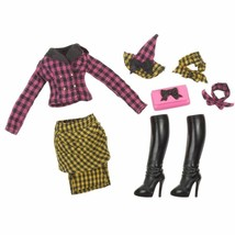 Bratz Bratzillaz Glam Gets Wicked Changed Up Chic Fashion Pack Doll Clot... - $11.99